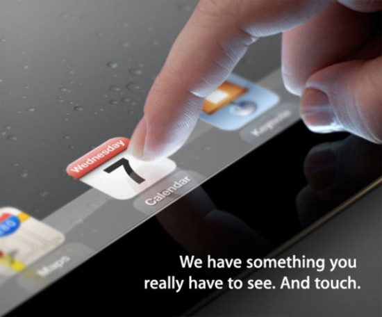 iPad 3 presentation