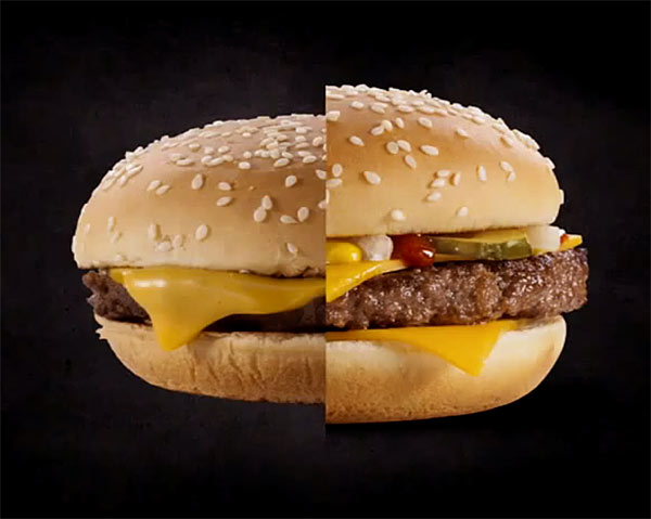 гамбурге макдоналд съемка в рекламе