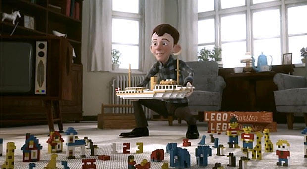 мультфильм про Lego