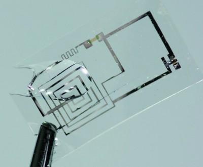 Растворимые электронные схемы.