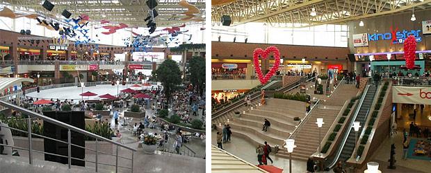Размер торгового центра:
