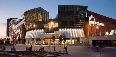 торговый центр Метрополис рядом с метро Войковская