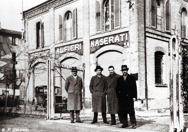 Братья Мазерати