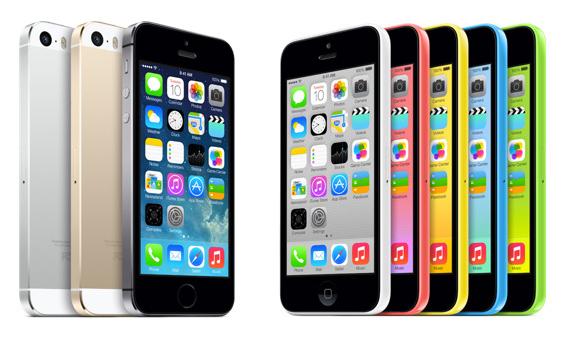 iphone5s iphone5c официальные продажи в России