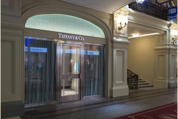 В ГУМе открылся бутик Tiffany & Co