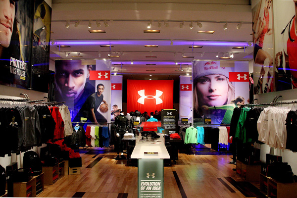 Under Armour Pop-Up Shop Launch Party NYC